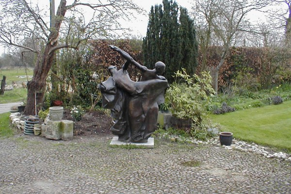 Dance sculpture by John W. Mills
