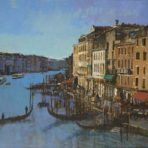 Grand Canel Venice view from the Rialto