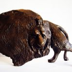 Cage Lion Bronze