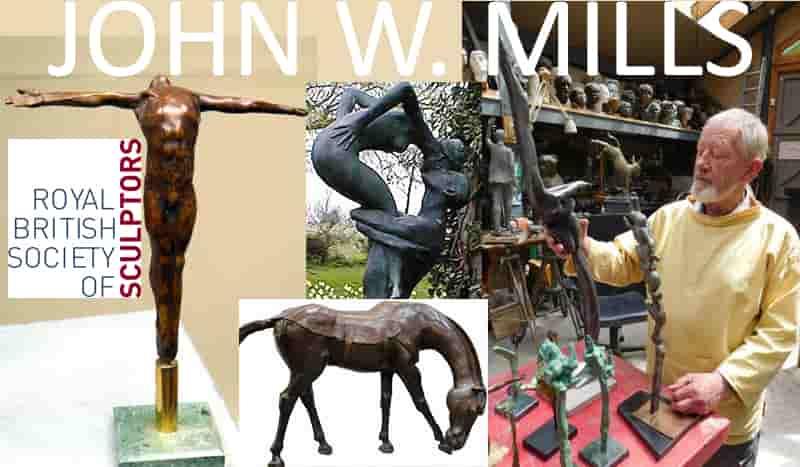 John W Mills British sculptor